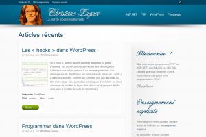 Accéder à « Un nouveau thème pour mon blogue »