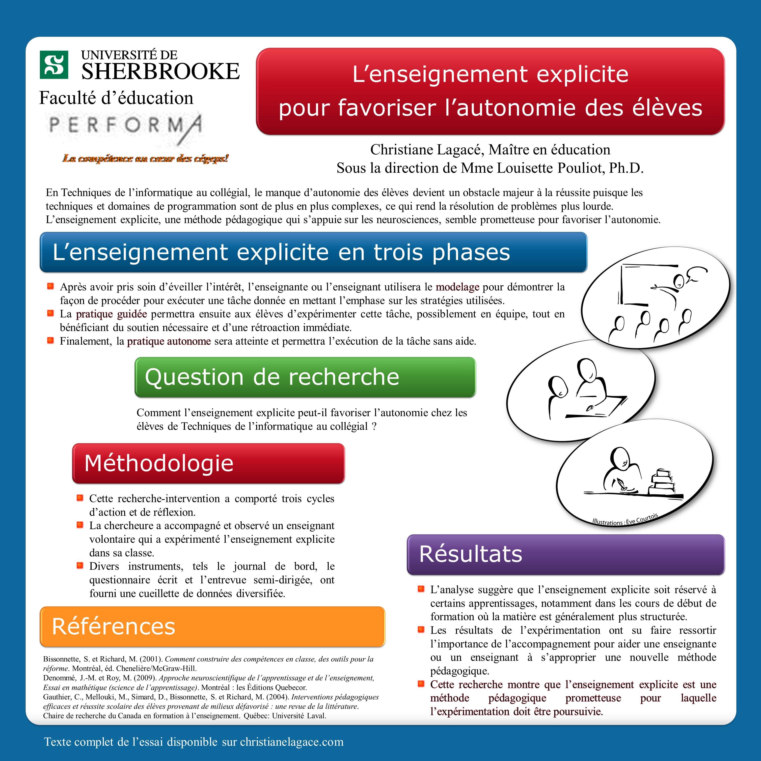 Accéder à « Affiche scientifique de ma recherche sur l'e »