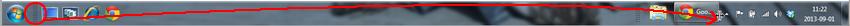 Installer barre de lancement rapide