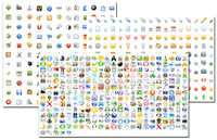 Free (large) icon sets for your website