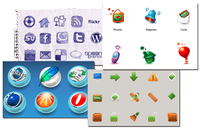 40 Beautiful Free Icon Sets