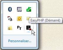 Vérifier si EasyPHP est démarré