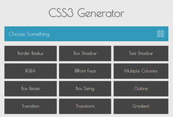 Outils de l'intégrateur - CSS3 Generator