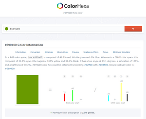 Color Hexa