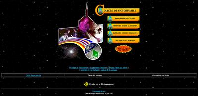 Site du cégep de Victoriaville en 1997