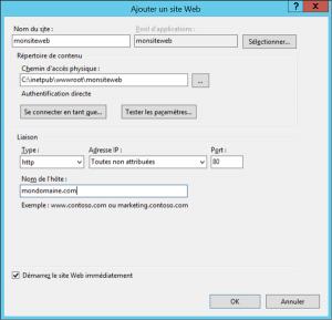 Accéder à « Site Web ASP.NET : Transfert manuel des fichiers s »