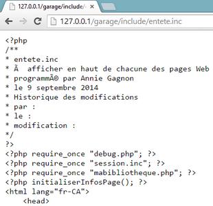 Exemple de fichier .inc non protégé