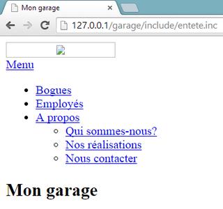 Exemple de fichier .inc protégé