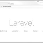 Accéder à « Création d'un projet Laravel »