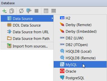 Ajouter une source de données