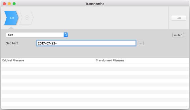 Transnomino - étape 1