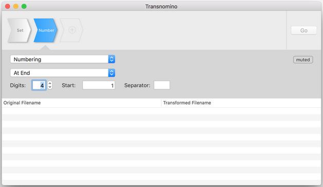 Transnomino - étape 2