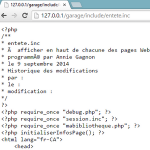 Accéder à « PHP : Sécuriser les fichiers .inc »