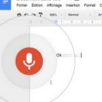 Accéder à « Convertir un enregistrement audio en texte de faç »